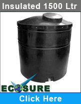 1500 Litre Insulated Tank