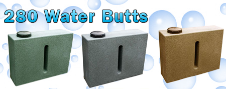 water butt slimline water butts ecosure water butts. Black Bedroom Furniture Sets. Home Design Ideas