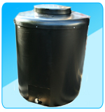 Insulated Water Tank 710 Litres Black