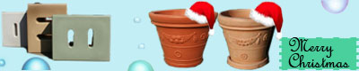 Water Butts- Christmas Planters